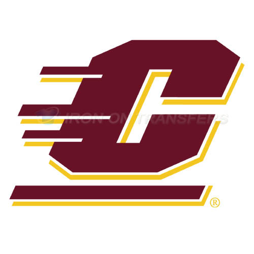 Central Michigan Chippewas logo T-shirts Iron On Transfers N4122